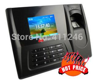 biometric fingerprint punch usb time attendance clock English office recorder timing employee sensor machine reader(China (Mainland))