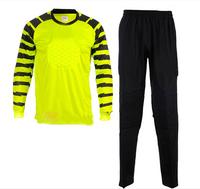 Soccer jersey goalkeeper jersey belt hudian lungmoon jersey chromophous long-sleeve goalkeeper clothing Suit FREE SHIPPING