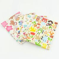 4 Pieces 15cmx50cm cotton patchwork fabric bundle quilting bedding cartoon owl home textile sewing cloth tilda W3B6-14 BOBO DIY