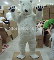 New Polar Bear Mascot Costume Adult Character Costume Cosplay mascot costume Free Shipping!