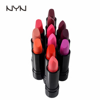 New Arrival waterproof smooth matte lipstick color elegant Daily Lip Balm Lip Makeup Remover long-lasting sweet girl 12 colors