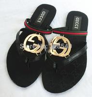 Free Shipping new women's flip-flops Sandals & Flip Flops shoes summer sandal flat toe shoes herringbone slippers