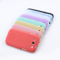 High Quality Jelly Soft Case Cover TPU Silicone Skin For Samsung Galaxy S3 i9300 Hot Sell shipping & Drop Shipping