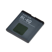 BL-6Q  ACCU battery BL5K for Nokia mobile phone free shipping