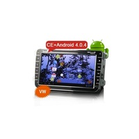 WBT9058A 2 Din 8 Inch Capacitive screen Android 4.0 Car DVD Player With WiFi 3G GPS Cortex-A10 Free 4GB Map Card Car Sat Nav