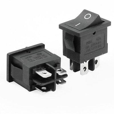 Кулисный переключатель Switch 2 4 DPST /250 ac 6A 125V 10