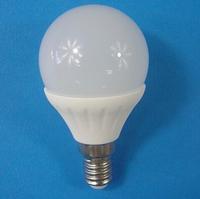 3W 12V E14 LED  Bulb(240lm)  for 12V  solar power system,  DHL freeshipping