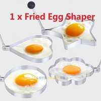 LS4G Kitchen Tool Stainless Steel Pancake Mold Ring Cooking Fried Egg Shaper