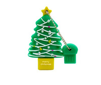 Christmas Tree USB Flash Drive Gift Pen Drive 32GB Pendrive USB 2.0 Memory Card 16GB 8GB Flash Card