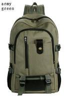 New 2014 Hot sale outdoor leisure canvas backpack big size sport travel camping bag rucksack mochila bolsas bolsos