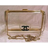 Brand New 2014 Mini Bags Women Transparent Acrylic Perspex Clutch Clear Purse Evening Bag Handbag