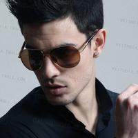 Hot Sale 2014 Fashion Male and Female Models Big Box Metal Sunglasses Yurt Eyeglasses Free Shipping #B-194