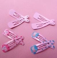 Hot 100 pieces = 50 pairs Frozen ANNA Elsa Hairpin Clip Clips Hair Clips Baby Children Hair Clip