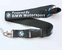 New Fashion Motorcycle Logo Lanyard Key chain Holder Badge ID Phone Holder 50pcs Powered By motorsport  free shipping