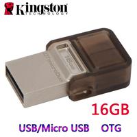 Kingston 8GB 16GB 32GB 64GB USB OTG USB Flash Drive For Samsung Android Mobile Phone Tablet PC Pen Drive OTG Micro USB Pendrive