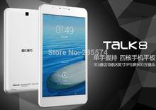 "Free Film+Hot Cube u27gt-3g talk8 8GB mtk8382 quad core 3g wcdma 2g gsm phone call GPS tablet pc mini pad 8"" IPS Android 4.4 OS(China (Mainland))"