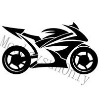 Car vinyl decal sticker JDM  DUB Bike motorcycle car reflective stickers