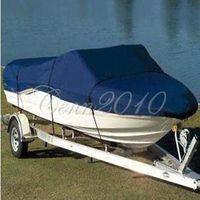 "Boat Cover for 17'18'19' Beam 95"" Heavy Duty Trailerable Fish Ski V Hull 210D"