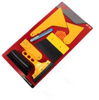 Scraper seven set car film tools tendon small spatula to color film matte proof membrane construction suit