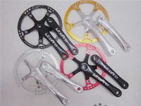 2014 Popular Super Light Al7005 170*47T Folding Bicycle Cranksets Multi-colors for Your Choice