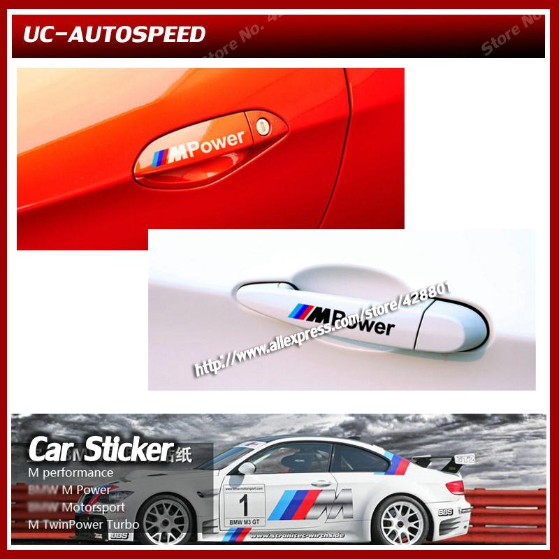 Купить Наклейки BMW M power tech Motorsport с бесплатной доставкой