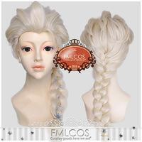 Frozen Anna Cosplay Wig Hair Accessory Frozen Princess Frozen Snow Queen Elsa Cosplay Wig Elsa Wig Costume Hair