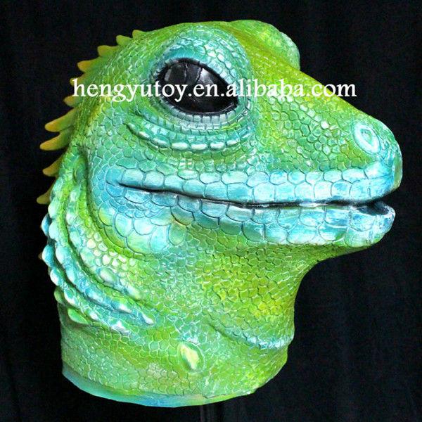 Lizard Costume Costume Latex Lizard Mask