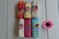 Wholesale Girls Dora Briefs underwear pants children cute cartoon children color Underewear 6 / 6 bags specifications are availa