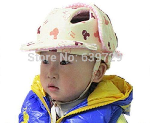 Infant Toddler Baby safety helmet Head Protection Headguard protective cap new 3 Protective Cap Bumper Cap Edge Corner Guards(China (Mainland))