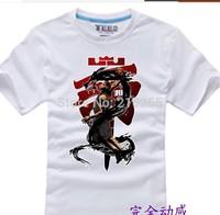2014 dunk short sleeve T-shirt man basketball clothes half sleeve t-shirts plus-size clothes