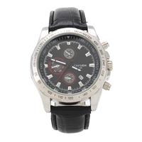 2014 New CAFUER Brand Men Quartz Business Watch,Men Movement Calendar Leather Watch,Free shipping