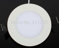 Round 8inch LED Panel Light 18W 200mm Cutout Flat Panel Light 1800Lumens 85-265V AC Free Shipping