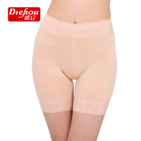 Free shipping3042 Ms. thirds safety pants women's lace boxers Modal Leggings pants big yards