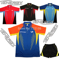 NEW TENERGY Butterfly table tennis clothes Men Tshirt , Table Tennis shirts , table tennis uniforms , PING PONG CLOTHES SHIRT
