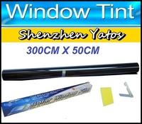 Car WINDOW TINT Wrapping Film Dark Black 15% 50CM*300CM