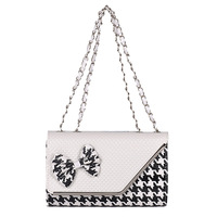 Houndstooth  2014 new handbags ladies clutch bags for women luxury bags handbags fashion fashion handbagswomen handbag