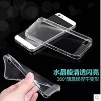 For iphone 5s For Samsung s5 Note3 Tpu Transparent Case DHL Free Wholesale