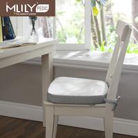 Mlily brief modern memory foam chair cushion four seasons cushion white unpick and wash