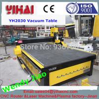China jinan good quality cnc vacuum bed /classical carving machine