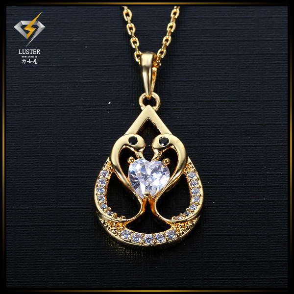 Popular artistic chain with pandent swan pendent for women as best gift pendent(China (Mainland))