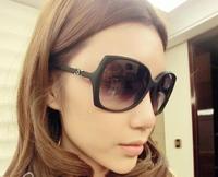 Ms. big box toad wild sunglasses UV sunglasses big box glasses