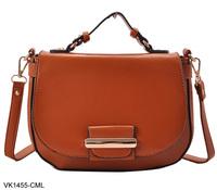 5 Colors New 2014 Women Fashion Handbags  Satchels  PU Leather  Messenger Shoulder Bags  Free Shipping VK1455