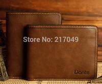 Hot sale 2013 Men's casual suction buckle leather wallet, have cion bag men wallets leather man purse