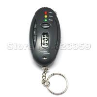 Mini Digital LED Alcohol Breath Tester Breathalyzer Analyzer Black