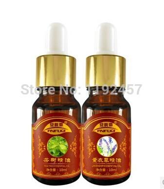 2015 Real Rushed Essential Oils Creme Para Estrias Massage Oil Free Shipping !lavender Tea Tree , Pure Genuine(China (Mainland))