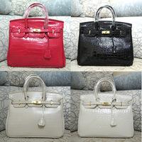 2014 new platinum package Europe and the United States major suit medium crocodile handbag Fashion lady bag Free Shipping