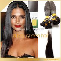 Brazilian Virgin Hair Straight  Brazilian Straight Hair Extension Human Hair Weaves Cheap Brazilian Hair Extensions No Tangle
