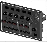 Rocker Switch with USB