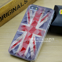 retro fashion flag 4 4S 5 5S case UK union jack british flag for iphone 5s case vintage british flag for iphone 5 case