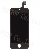 For iPhone 5s LCD Assembly -Black  ( OEM LCD Screen + Earpiece Mesh+Flex Cable + Touch Screen + Glass Lens + Digitizer Frame)